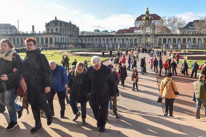 Die Dresden Marketing Gesellschaft soll eigentlich Dresdens schöne Seiten  vermarkten.