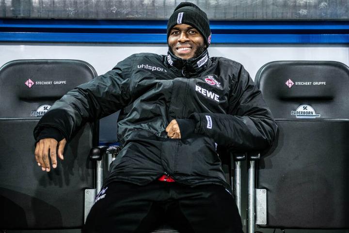 Zu Beginn des Spiels saß Anthony Modeste noch auf der FC-Ersatzbank.
