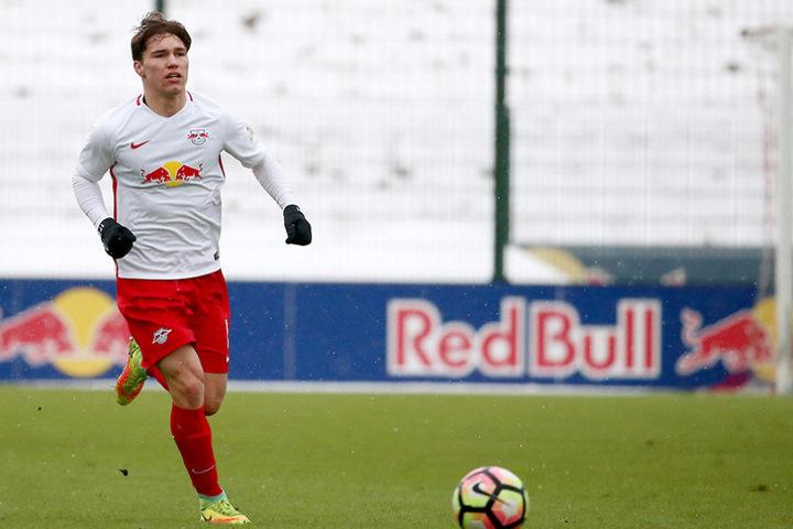 """Auch Anthony Barylla wechselt in der kommenden Saison von der U23 der """"Roten Bullen"""" zum FSV."""