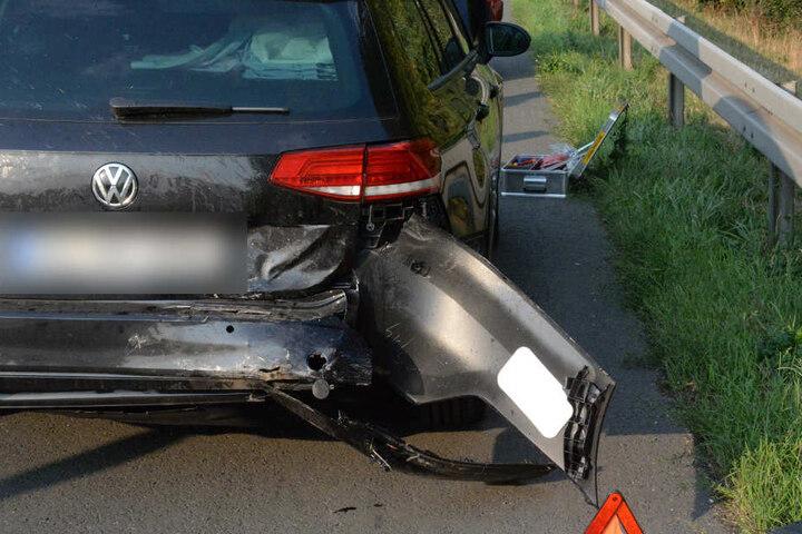 Bei einem dritten Unfall wurde niemand verletzt.