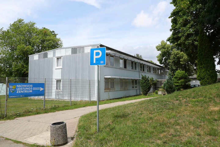 Chemnitzer FC Nachwuchsleistungszentrum im Sportforum Chemnitz.