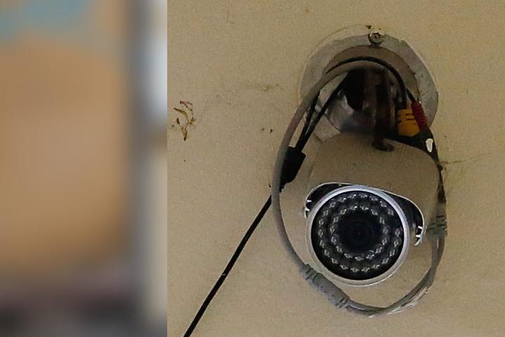 Filmte diese Überwachungskamera den Täter?
