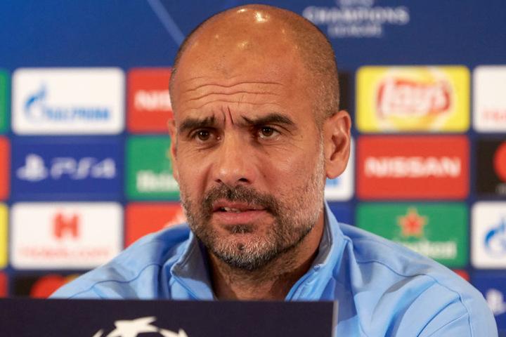 Empfängt die Kraichgauer: Manchester-Trainer Pep Guardiola.