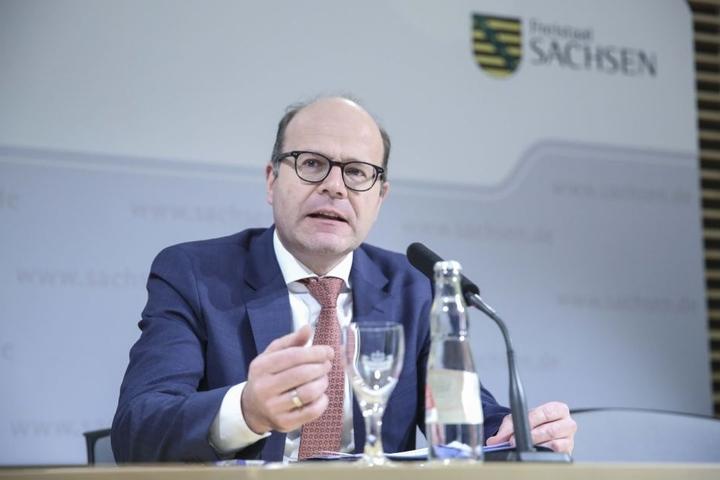 Staatskanzlei-Chef Oliver Schenk (49, CDU).