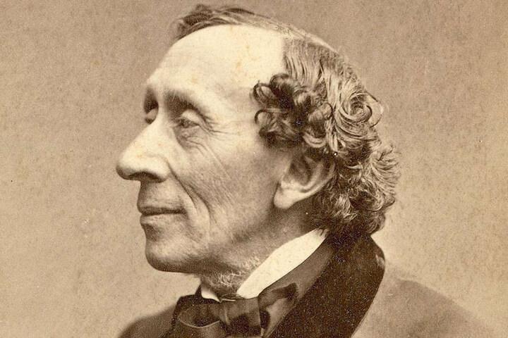 Märchendichter Hans-Christian Andersen übernachtete 1858 im Deils Hotel in Plauen.