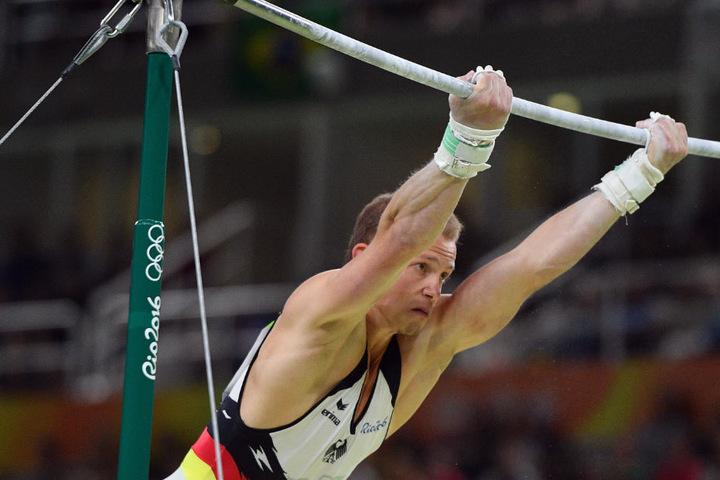 Volle Konzentration: Hambüchen in Rio 2016.