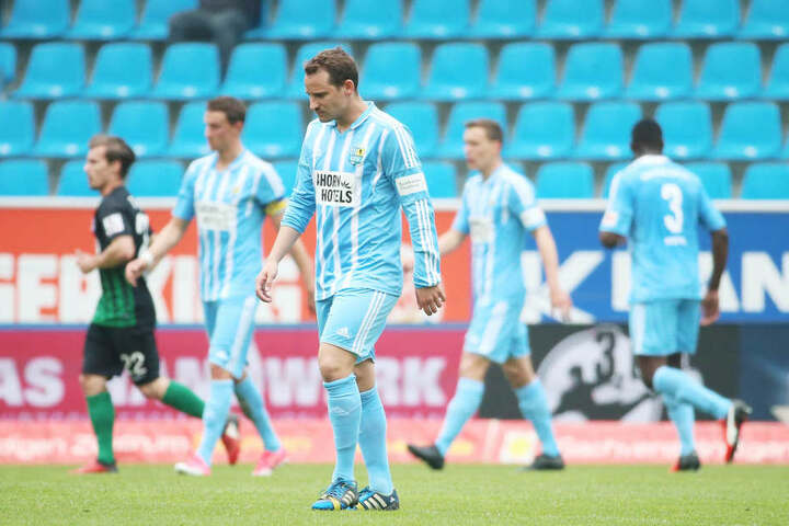 Die Enttäuschung über das Spiel war Anton Fink und seinen Mannschaftskollegen anzusehen.