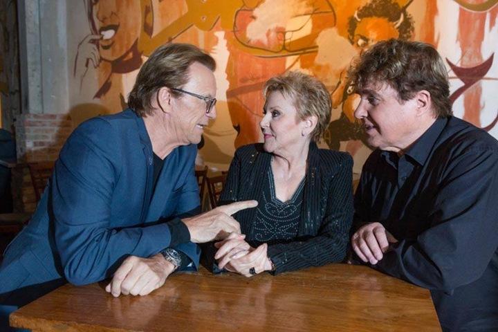 Alte Zeiten und neue Auftritte: Wolfgang Lippert (65), Peggy March (69) und Frank Schöbel (75) im Gespräch.
