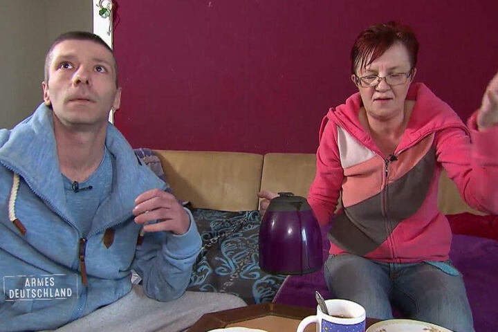Denis L. (33) und seine Lebensgefährtin Simone M. (55).