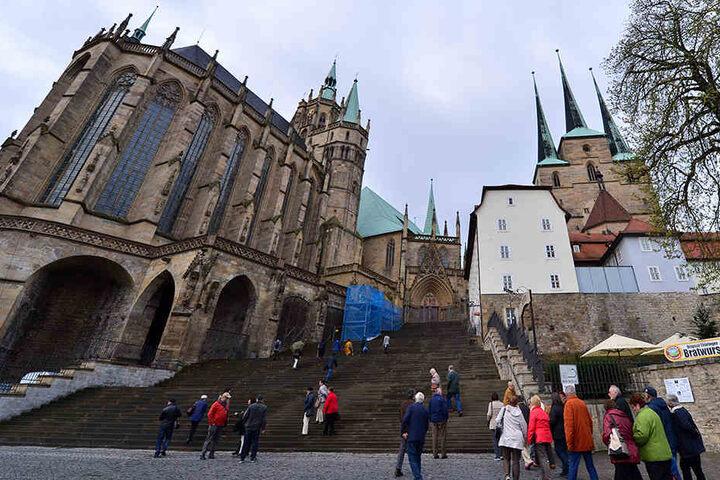 Erfurt gehört neben den anderen Thüringer Städten noch zu den beliebtesten Zielen der Touristen.