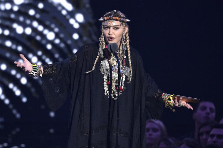 Sängerin Madonna bei den MTV Music Awards in New York.