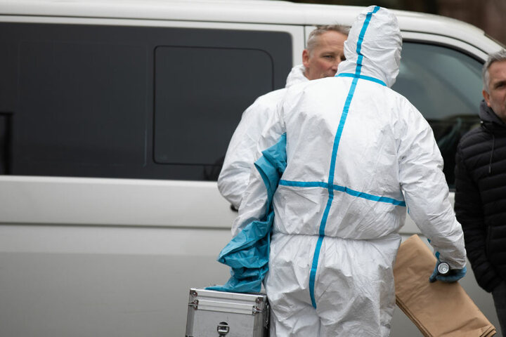 Eine 72 Jahre alte Frau ist bei einem Brand in Schwabach in Bayern gestorben.