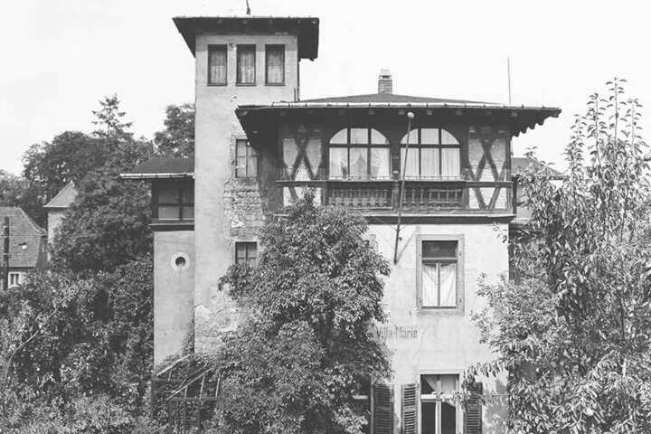 In den 80er-Jahren lag die Villa Marie im Dornröschenschlaf.