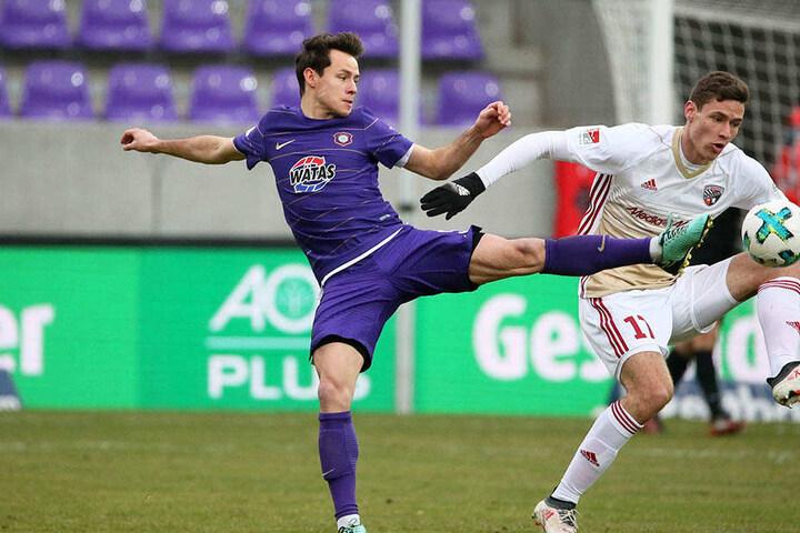 Clemens Fandrich sah eine gelungene Reaktion des FC Erzgebirge.