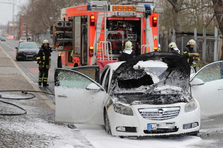 Brandursache könnte ein technischer Defekt gewesen sein.