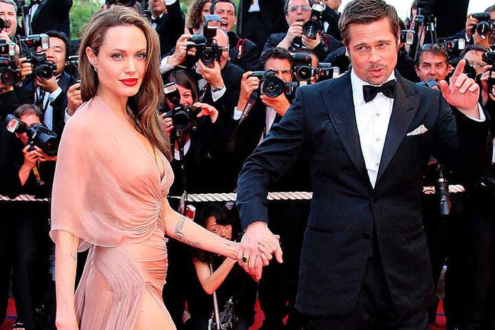Die Scheidung ist noch nicht vom Tisch: Die US-Schauspieler Angelina Jolie und Brad Pitt.