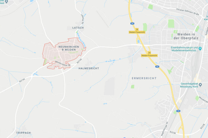 Der schreckliche Zwischenfall ereignete sich vor einem Kindergarten in Neunkirchen in Bayern.