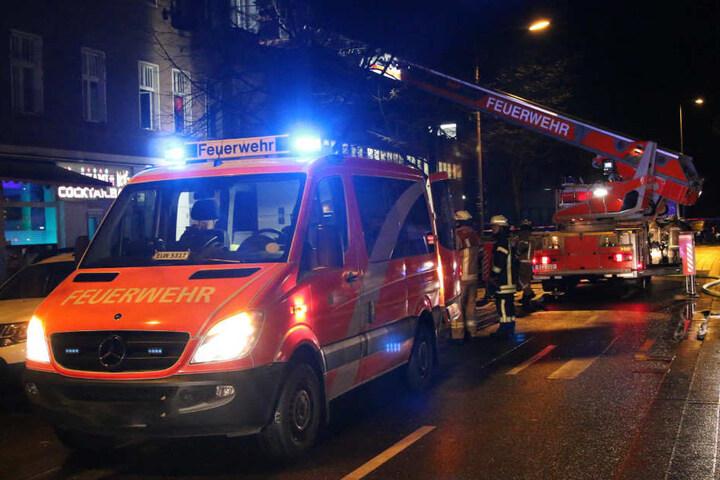 Der Brand brach in einer Wohnung im ersten Stock aus.