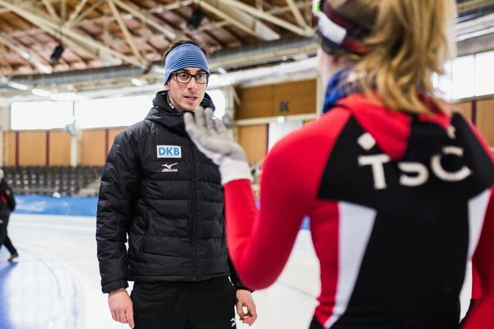 Robert Lehmann ist mittlerweile als Olympiastützpunkttrainer in Berlin tätig.