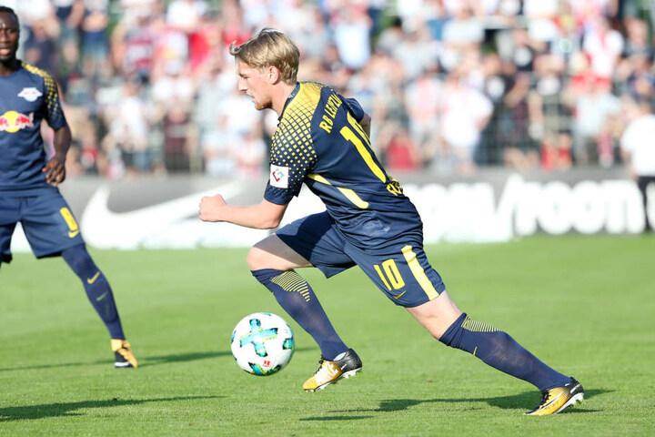 Emil Forsberg forcierte in der Sommerpause zeitweise seinen Abgang. Schlussendlich blieb der schwedische Mittelfeldmotor doch bei den Roten Bullen.