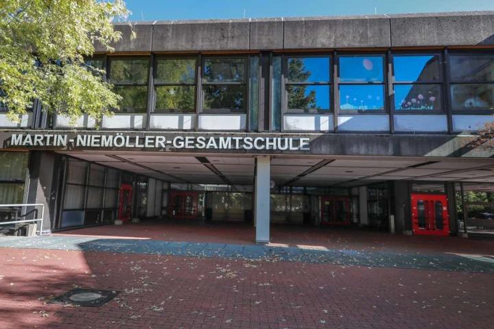 In der Martin-Niemöller Gesamtschule hat es gebrannt.