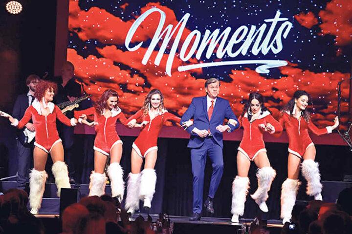 Schon bei der Premiere am 17. November wurde gefeiert: Event-Profi Mico Meinel (45, re.), Kraftverkehr-Inhaber Andreas Wöllenstein (48, Mitte) und Fernsehmoderator René Kindermann (42), der als Gast dabei war.