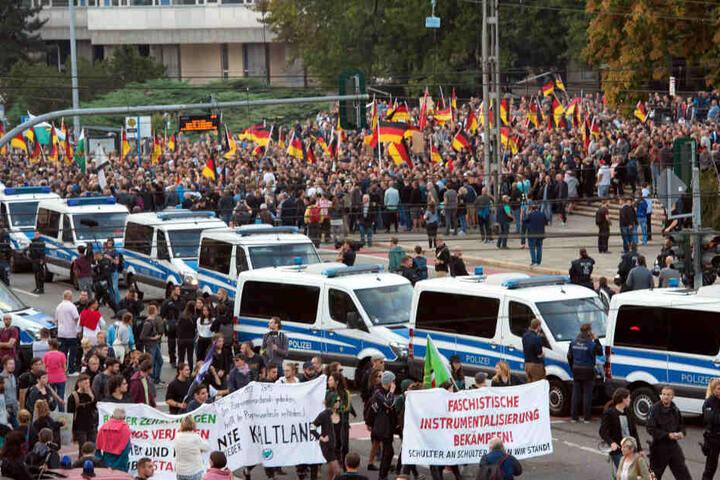 Am Samstag sind in Chemnitz auch Demonstrationen angemeldet.
