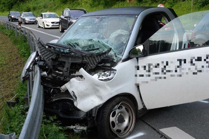 Der Smartfahrer wurde schwer verletzt.
