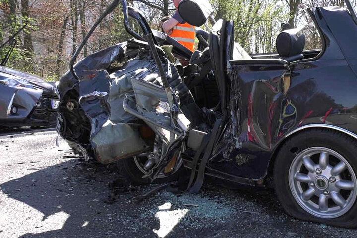 Für den 72 Jahre alten Mini-Fahrer gab es keine Überlebenschance.