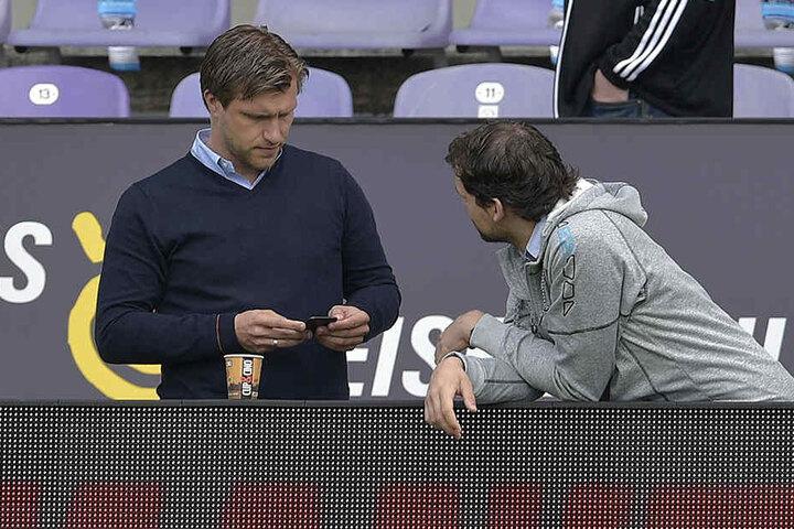 Nach Transferschluss alles klar gemacht: Sportchef Markus Krösche (36) muss nur noch Details regeln.