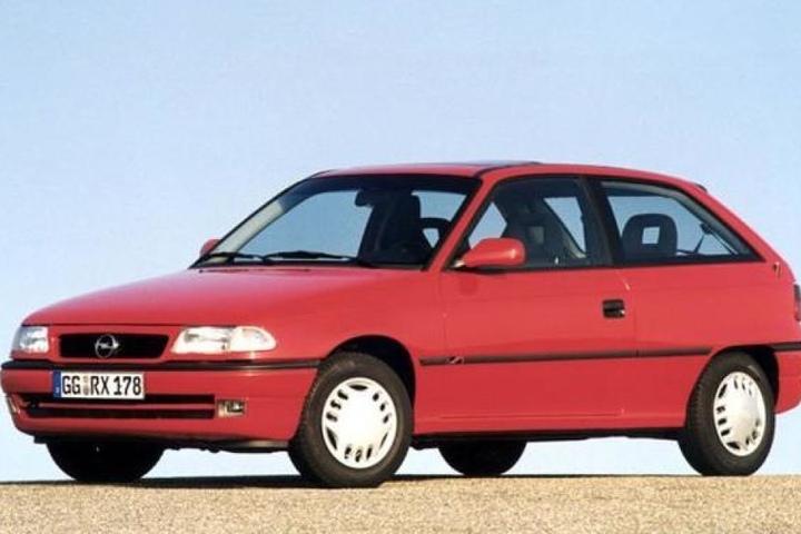So sah ein Opel Astra übrigens 1997, also vor 20 Jahren, aus.