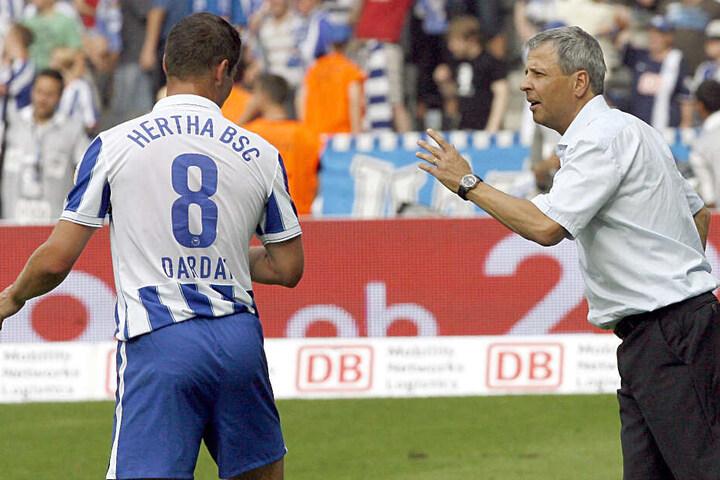 Chef und Lehrling? Pal Dardai spielte unter der Leitung von Trainer Lucien Favre für Hertha BSC. (2009)