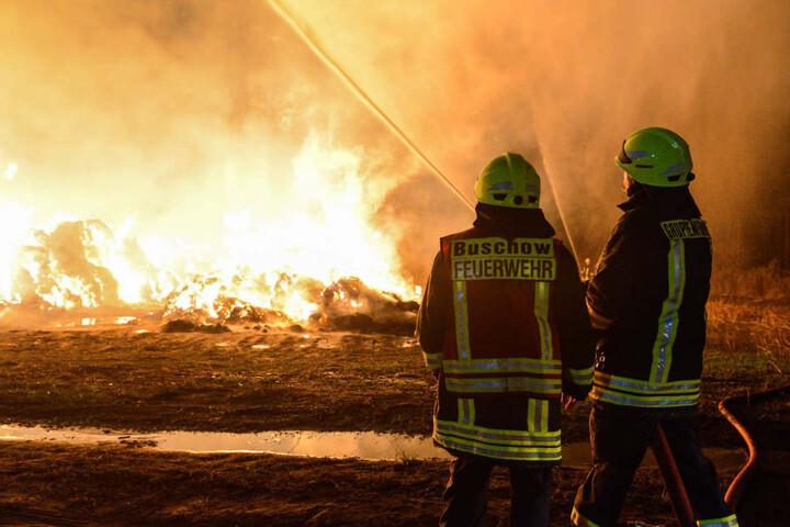 Der Einsatz der Feuerwehr wird noch mehrere Tage dauern.