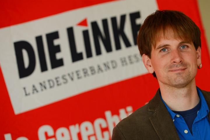 Der Linken-Politiker Jan Schalauske (Archivbild).