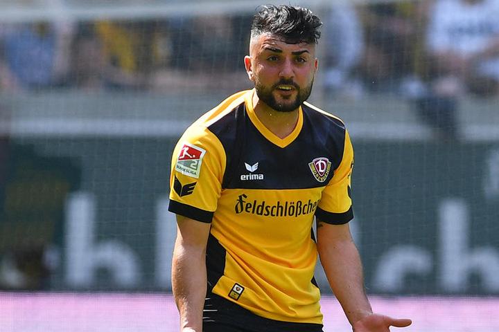 Aus disziplinarischen Gründen flog Aosman mal wieder aus dem Dresdner Kader.
