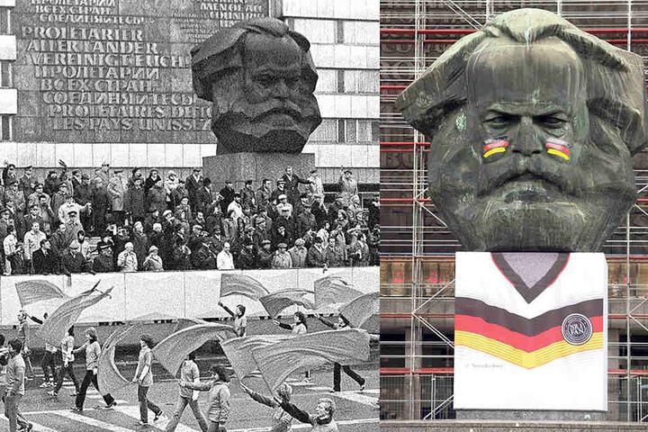 2014 bekam der Nischel ein  Deutschland-Trikot verpasst, das rasch geklaut und von der Morgenpost  wiedergefunden wurde