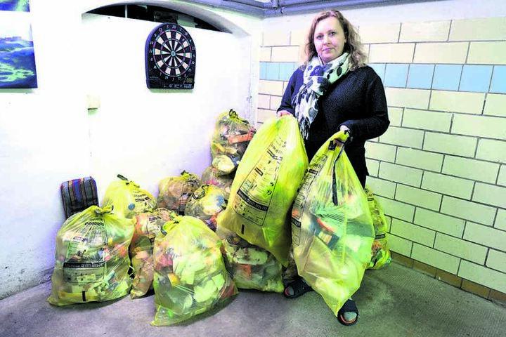 Hat den Müll-Notstand im eigenen Keller: CDU-Ratsfrau Solveig Kempe.