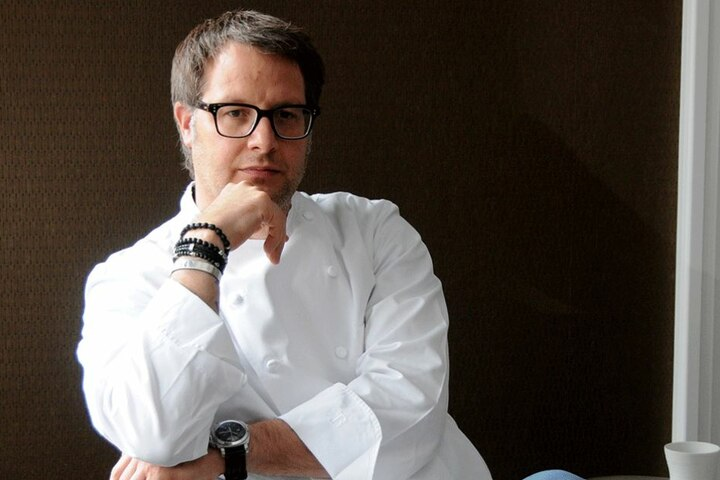 Feiert trotz Schwierigkeiten: Starkoch Stefan Hermann (46).
