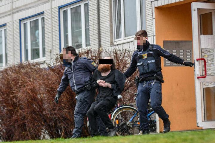 Der Beschuldigte ist laut Polizeiangaben kein Unbekannter.