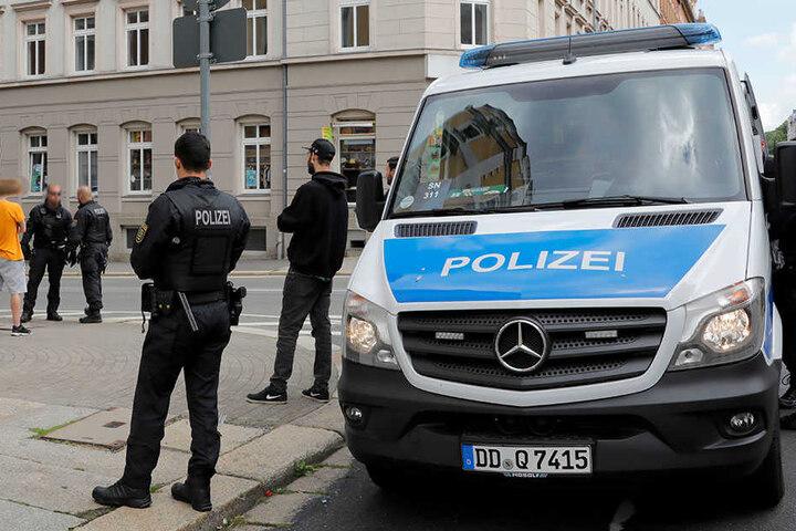 Die Polizei führte die Razzia unter anderem im Zentrum und auf dem Sonnenberg durch. (Archivbild)