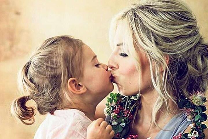 Ihr ganzer Stolz: Vor zweieinhalb Jahren kam Töchterchen Clara zur Welt.