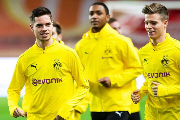 Dzenis Burnic (r.) sammelte bereits Erfahrung in der 1. Bundesliga.