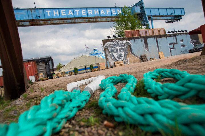 Die Vorstellungen am Theaterhafen werden eine Herausforderung für das Ensemble.
