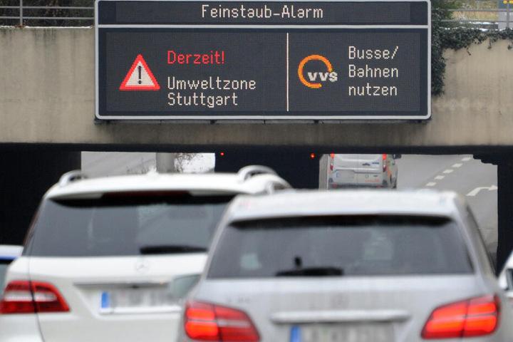 Seit Mittwoch herrscht wieder Feinstaubalarm in Stuttgart. (Symbolbild)