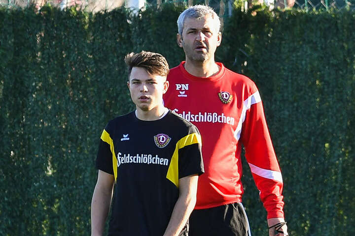 Der 16-Jährige Vasil Kusej deutete sein Potenzial an.