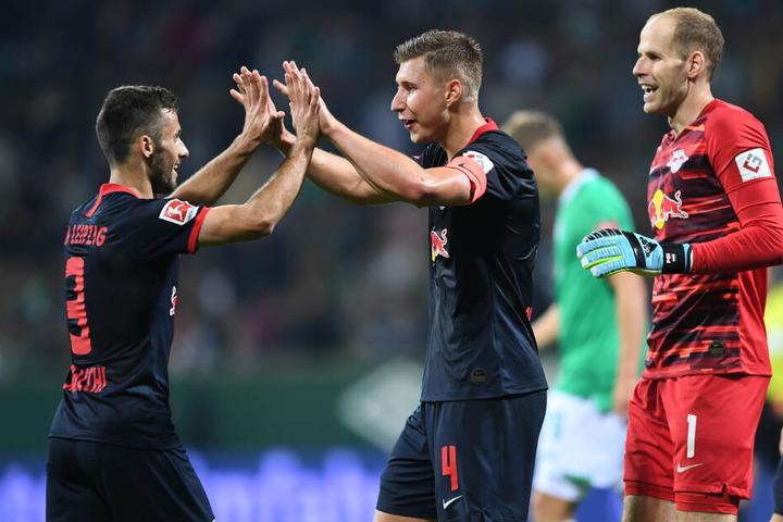 Nach dem 3:0 im Hinspiel hatten die Männer von Julian Nagelsmann viel zu lachen.