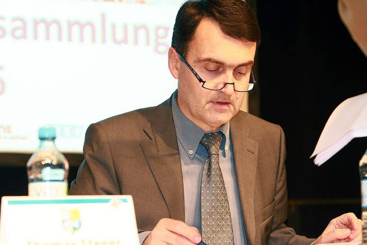 Die Amtszeit von Matthias Hänel endet 2017.