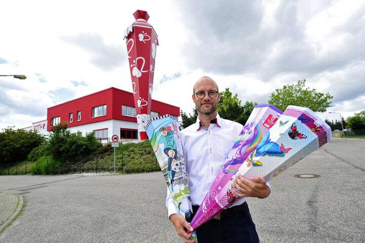 Lukas Roth (38) darf Zwickauer Kinder nicht mehr durch seine Manufaktur führen.