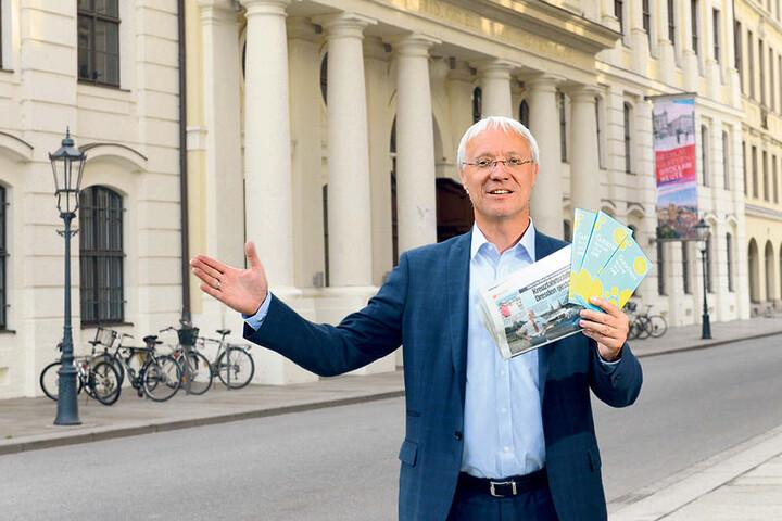 """""""Geste der Gastfreundschaft"""": Dresdens Museums-Chef Gisbert Porstmann (53) erfuhr aus der MOPO von den Gestrandeten und lädt alle Passagiere in die städtischen Museen ein."""