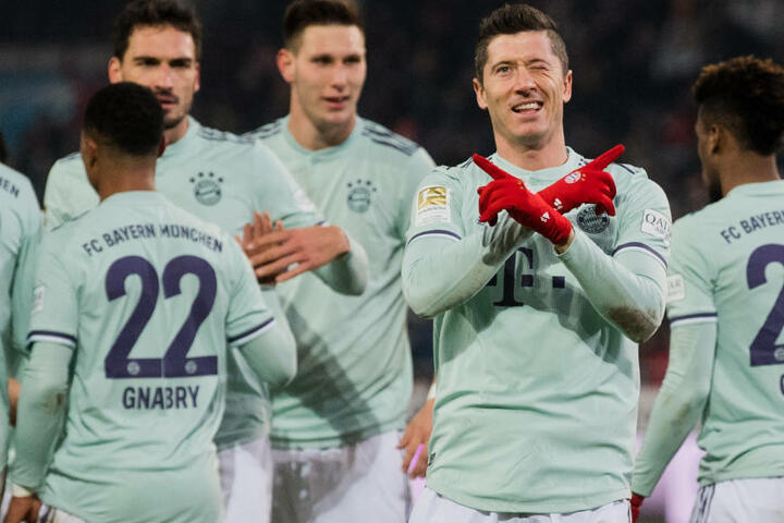 Der FC Bayern München spielt sich langsam aber sicher aus der tiefen Krise des Herbsts. (Archivbild)